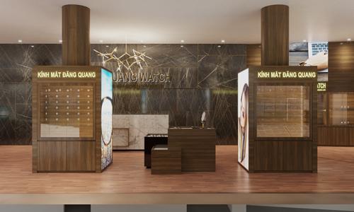 Không gian sang trọng tại showroom địa chỉ số 1 Phạm Văn Đồng.