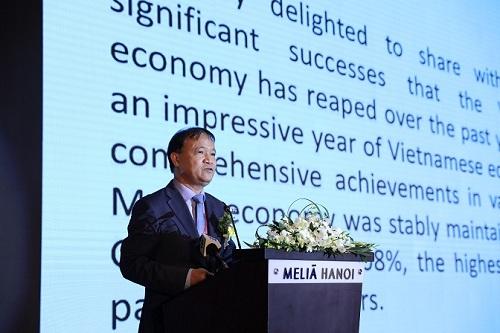 Thứ trưởng Đỗ Thắng Hải phát biểu tại Hội nghị.