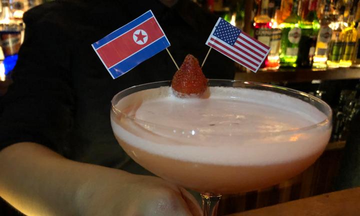 Món Cocktail có tên Làm thế giới tốt đẹp trở lại.