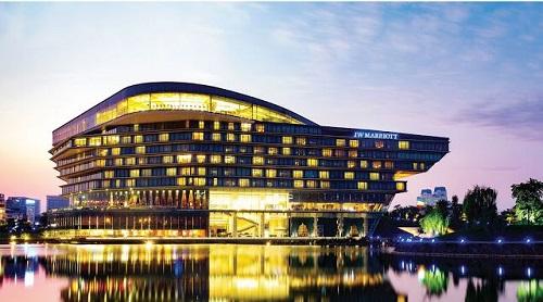 JW Marriott Hanoi liên tiếp giữ vị trí đầu bảng các khách sạn 5 sao thương hiệu nước ngoài tại Hà Nội.