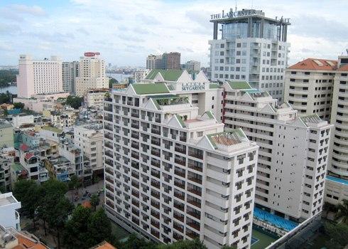 Thị trường căn hộ dịch vụ cho thuê khu trung tâm TP HCM. Ảnh: Vũ Lê