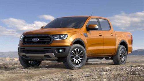 Một mẫu xe bán tải của hãng Ford.
