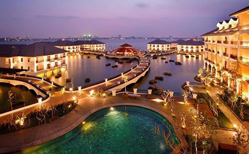 Khách sạn InterContinental Hanoi Westlake. Ảnh: Booking