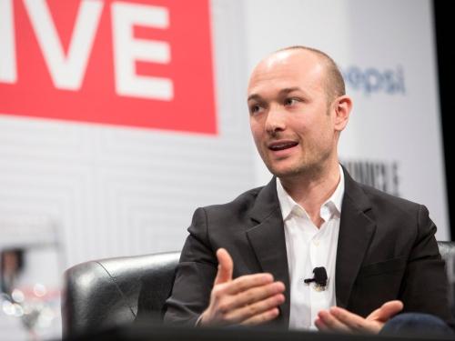 Logan Green, nhà sáng lập kiêm CEO của Lyft. Ảnh: Reuters