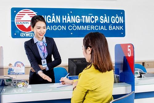 [Caption]Thông tin chi tiết: hotline 1800545438 - 19006538 hoặc các điểm giao dịch của SCB trên toàn hệ thống.