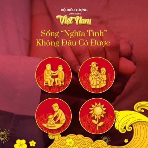 Những bộ icon tôn vinh những đức tính đáng quý của người Việt.