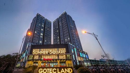 Khu căn hộ Summer Square với nhiều tiện ích phục vụ cư dân.