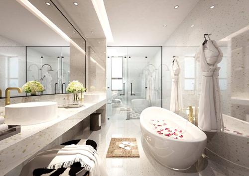 Conslab Thạch Anh được ứng dụng cho đa dạng không gian nội thất