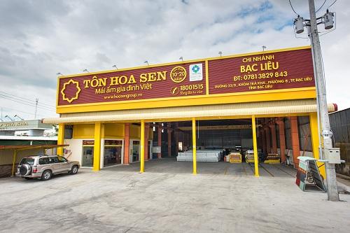 Theo mô hình mới, ở mỗi tỉnh thành, tập đoàn Hoa Sen có một chi nhánh tỉnh, các chi nhánh cũ còn lại chuyển đổi thành cửa hàng trực thuộc chi nhánh tỉnh.