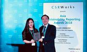Bảo Việt đạt giải 'Báo cáo phát triển bền vững tốt nhất châu Á'