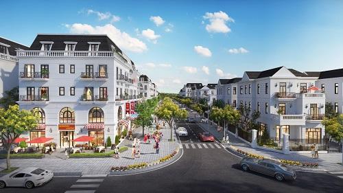 Central Citycóthiết kế đồng bộtrong kiến trúc, cảnh quan cùngkhông gian xanh khoáng đạt.