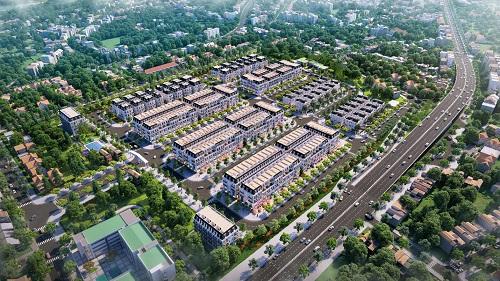 Central Citylàmột trong những khu đô thị kiểu mẫutại TP Uông Bí, Quảng Ninh