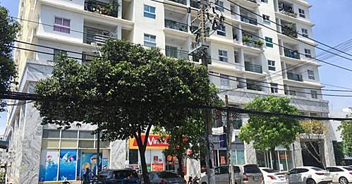 Chung cư bị Ngân hàng Nam Á thông báo sẽ siết nợ vào giữa tháng 4/2019.