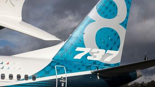 Một chiếc Boeing 787 Max 8 tại Washington (Mỹ). Ảnh: AFP