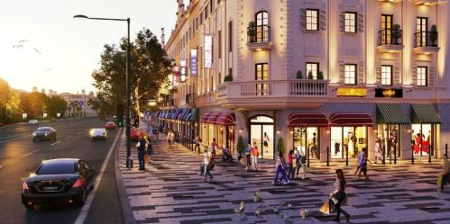 Phong cách kiến trúc Pháp tại tiểu khu nhà phố thương mại Élysée - 2