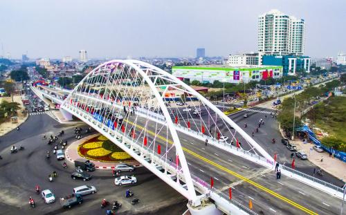Diện mạo mới của thành phố Hải Phòng tạo sức bật cho thị trường bất động sản.