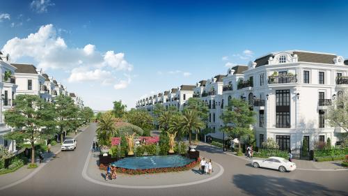 Elegant Park Villa tọa lạc tại Thạch Bàn, Long Biên, Hà Nội