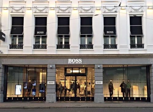 Một cửa hàng của thương hiệu BOSS.