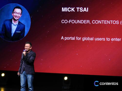 Mick Tsai - đồng sáng lập Contentos chia sẻ thông tin về dự án blockchain này.