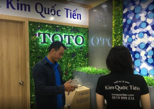 Showroom Kim Quốc Tiến giảm giá đến 36% cho thiết bị vệ sinh ToTo