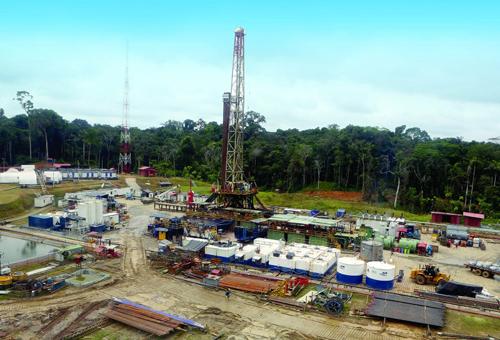 Một dự án khai thác dầu khí của PVEP tại Peru. Ảnh: PVEP