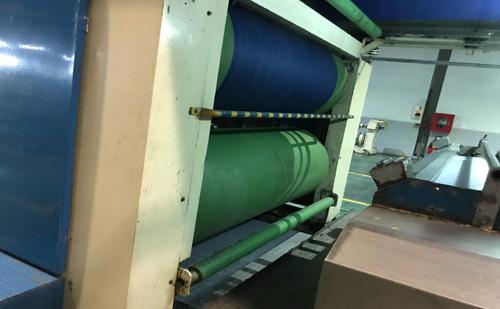 Trục rulo trong ngành dệt