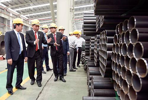 Tập đoàn Hoa Sen kỳ vọng nhà máy ống kẽm nhúng nóng Nâng cao năng lực sản xuất, đa dạng hóa sản phẩm đáp ứng nhu cầu của khách hàng