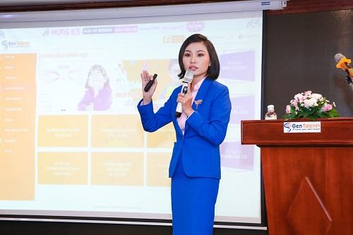Ms Võ Thị Hồng Nhật – Tổng Giám Đốc của I-Talents