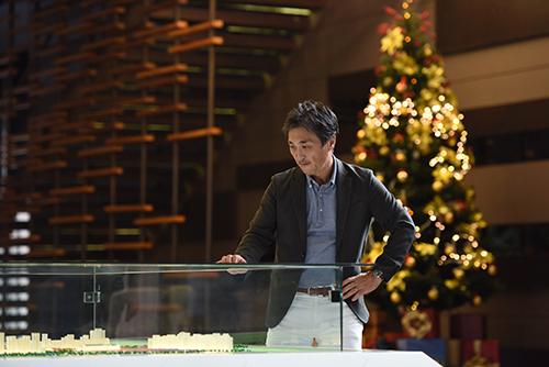 Ông Sawamoto đại diện công ty Daiwa House Group, một trong những tập đoàn bất động sản hàng đầu tại Nhật Bản chia sẻ triết lý khi phát triển Midtown.