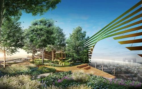 Phong cách sống xanh được chú trọng tại các dự án căn hộ phía bắc Bangkok, Thái Lan.