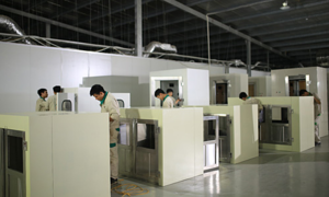 Intech Group sản xuất, lắp ráp thiết bị xử lý không khí và phòng sạch