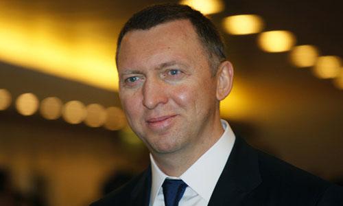 Tỷ phú Nga - Oleg Deripaska trong một sự kiện. Ảnh: AP