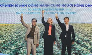 Pepsico kỷ niệm 10 năm dự án 'Nông nghiệp bền vững'