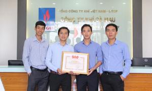 Sáng kiến của Khí Cà Mau nhận giải 'Tuổi trẻ sáng tạo toàn quốc'