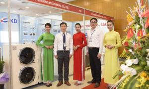 90% nhà trưng bày quốc tế tham dự HVACR Việt Nam 2019
