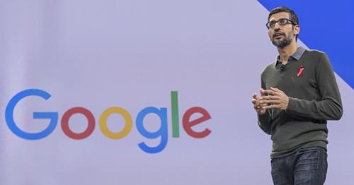 CEO GoogleSundar Pichai. Ảnh:Bloomberg