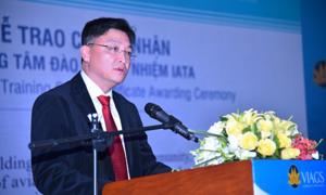 VIAGS trở thành trung tâm đào tạo ủy nghiệm IATA