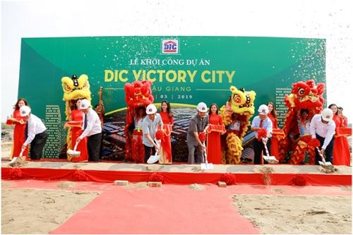 DIC Victory City Hậu Giang chính thức khởi công ngày 16/3 vừa qua.
