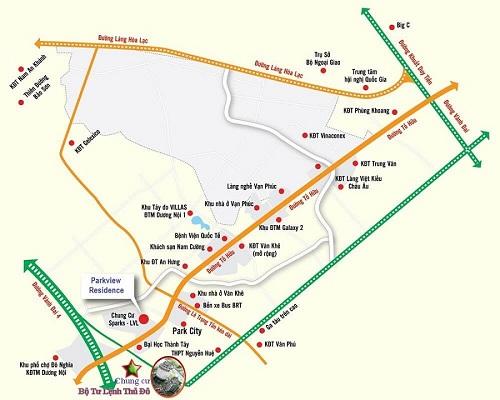Dự án có vị trí thuận tiện, gần nhiều tuyến đường và các công trình công cộng...