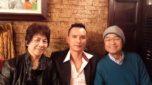 TGĐ Ngô Minh Thưởng cùng chủ tịch tập đoàn Hatoya và phu nhân.