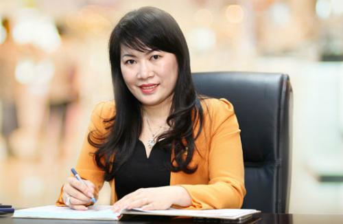 Bà Lương Thị Cẩm Tú - tân Chủ tịch Eximbank.