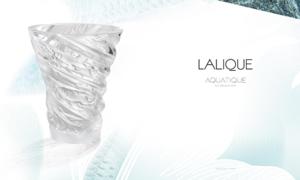 Lalique ra mắt bộ sưu tập 'Thủy thượng uyển' trong căn biệt thự Paris