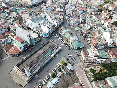 Khu trung tâm Đà Lạt có hiện có giá vài trăm triệu/m2