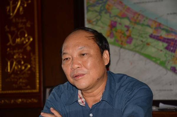 Ông Đỗ Xuân Diện - cựu Trưởng ban quản lý Khu kinh tế mở Chu Lai.
