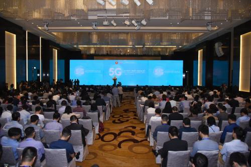 Toàn cảnh sự kiện trao giải Nhà cung cấp dịch vụ băng thông rộng di động và Internet cố định năm 2019.