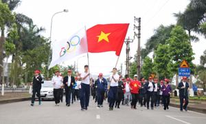 Hơn 2.000 người tham gia giải chạy của Nagakawa tại Bắc Ninh