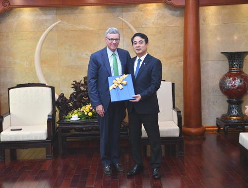 Chủ tịch Hội đồng quản trị Vietcombank Nghiêm Xuân Thành