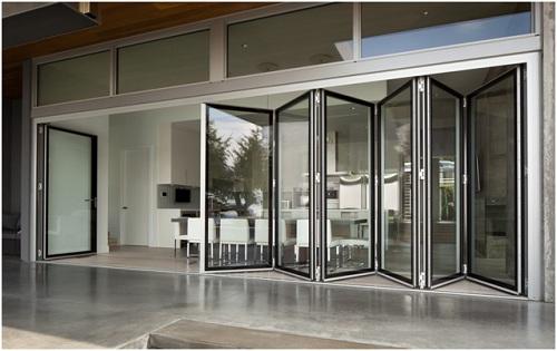 Cửa gấp trượt Topal Prima  cửa nhôm đồng bộ cao cấp của Tập đoàn Austdoor