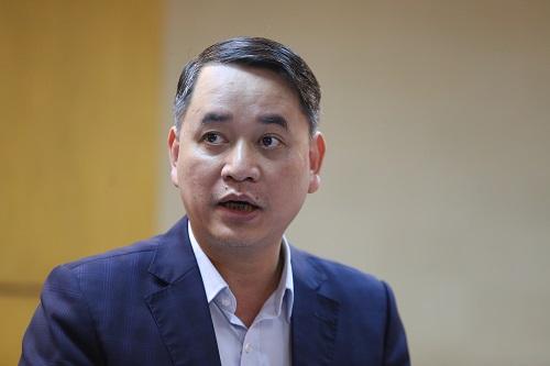 Ông Lê Vũ Tuấn Anh, Phó Chánh thanh tra Bộ Tài nguyên. Ảnh: Gia Chính