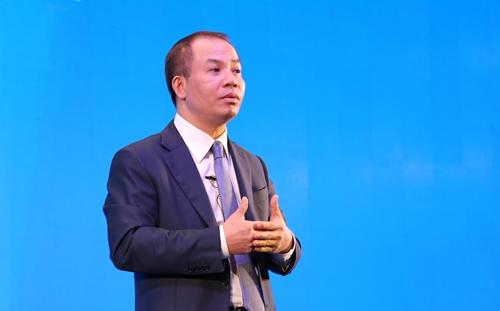 Chủ tịch HĐQT Ngân hàng VIB - Đặng Khắc Vỹ. Ảnh: Giang Trần.